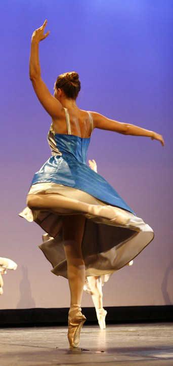 Elève Temps Danse Asnières piqué attitude chorégraphie danse classique