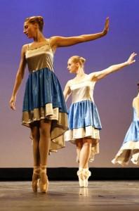 Elèves Temps Danse Asnières relevé pointes chorégraphie danse classique