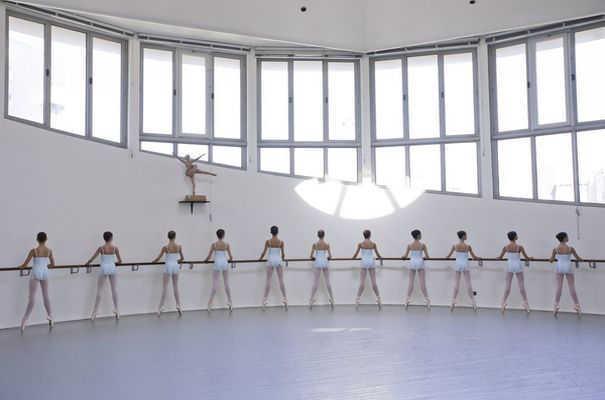 Cours à l'Ecole de Danse de l'Opéra