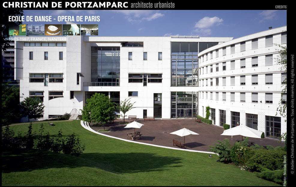 L'école de Danse de l'Opéra, à Nanterre