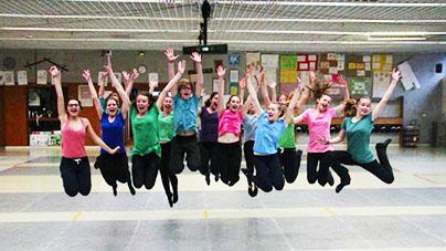 élèves Temps Danse Asnières annonce clip 2015