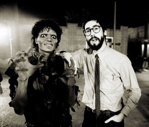 Michael Jackson et John Landis