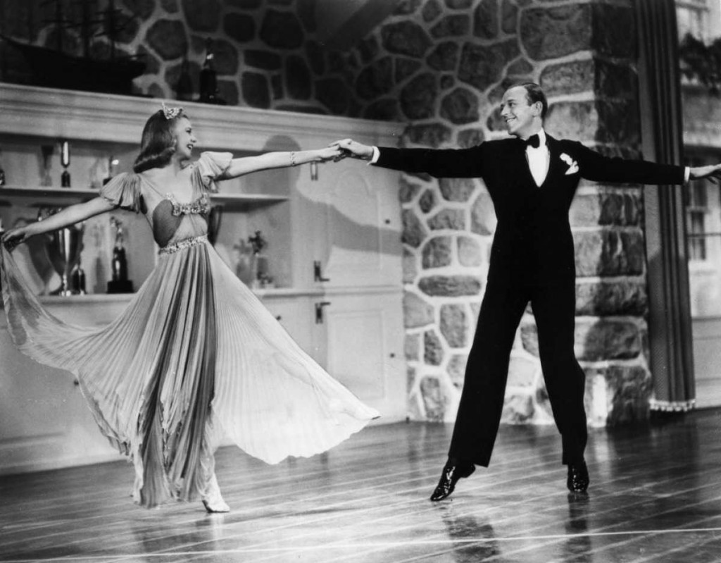 Fred Astaire et Ginger Rogers dans Carefree