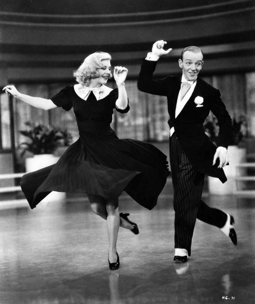 Fred Astaire et Ginger Rogers dans Swing Time