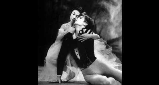 Rudolf Noureev et Margot Fonteyn dans Giselle