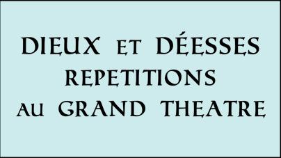 Déroulé des 2 jours au théâtre 10 et 11 juin 2016